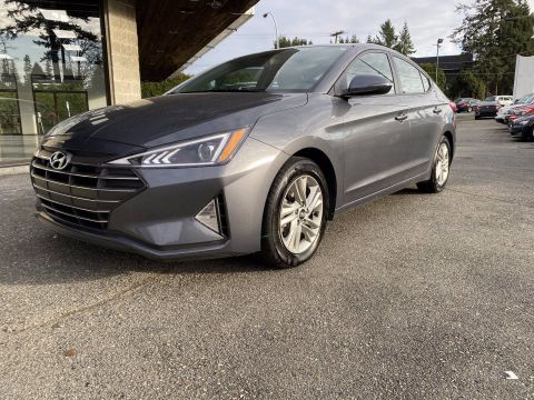 Pre-Owned 2019 Hyundai Elantra Preferred w/Sun & Safety Package Luxury Auto Sport